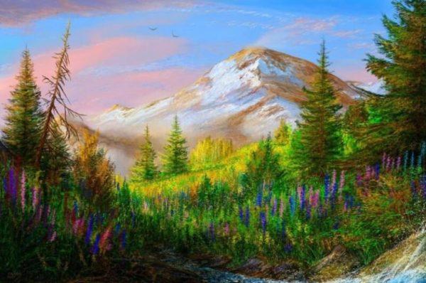 Как нарисовать природу легко и красиво - карандашом или ...