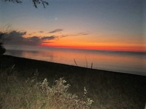 A Door County sunrise.