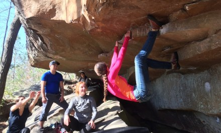 STUDENTS ROCK CLIMB WITH SUPERIOR ADVENTURES