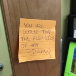 Positive post-it notes infiltrate UWS campus