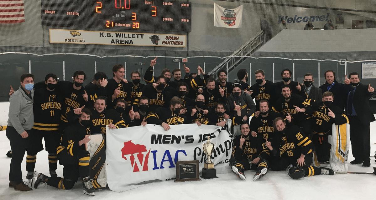 Men's Hockey Wins WIAC Championship; Four Players named All-WIAC