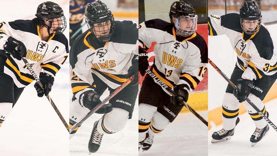 Four named to All-WIAC women's hockey teams