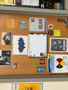 The GERC door in Swenson  1031. Hours are 8:00 a.m. -  8:00 p.m. weekdays.