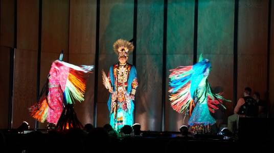 Woodland Sky Native American Dance Company. Photo by Pratham Mundra.