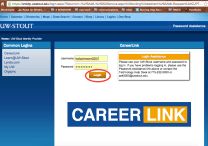 Log in with your UW-Stout credentials.