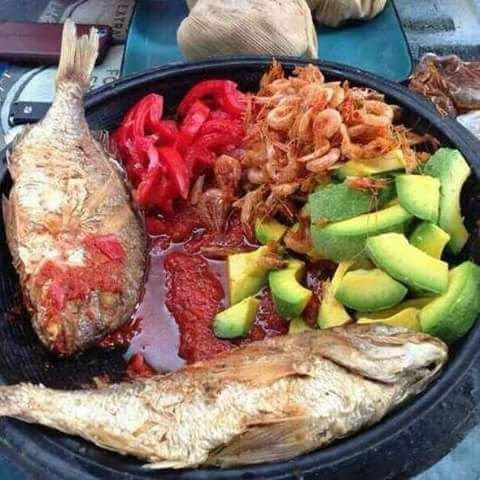 Image result for kenkey and fish