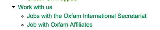 Oxfam jobs