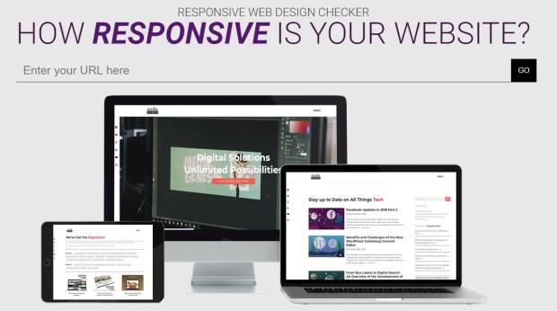 Tools - Responsive Website Design Tester - Media Genesis