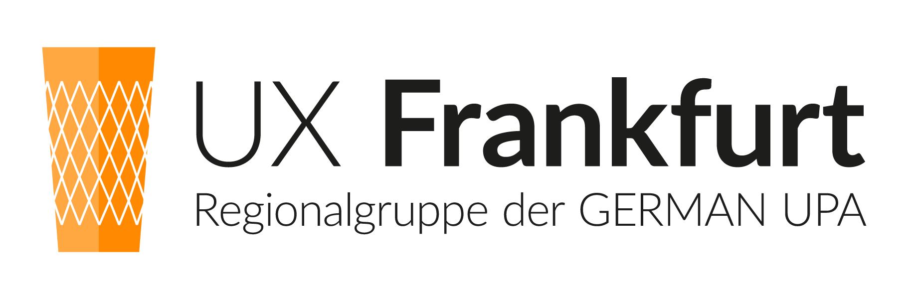 Logo UX Frankfurt Regionalgruppe der German UPA