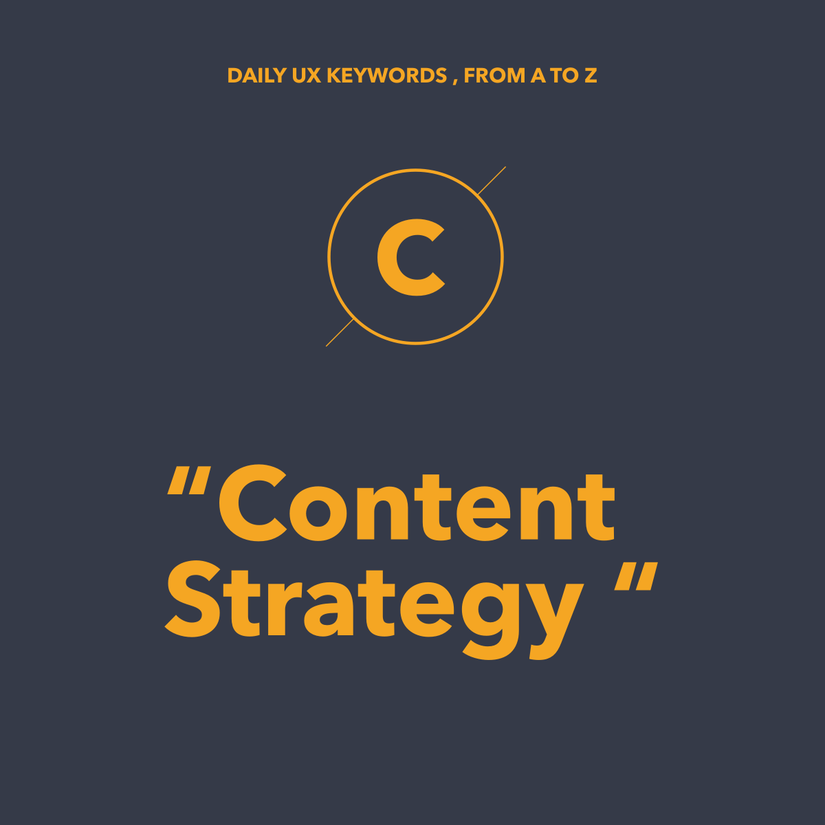Content Strategy là gì? Tại sao Designer phải biết?