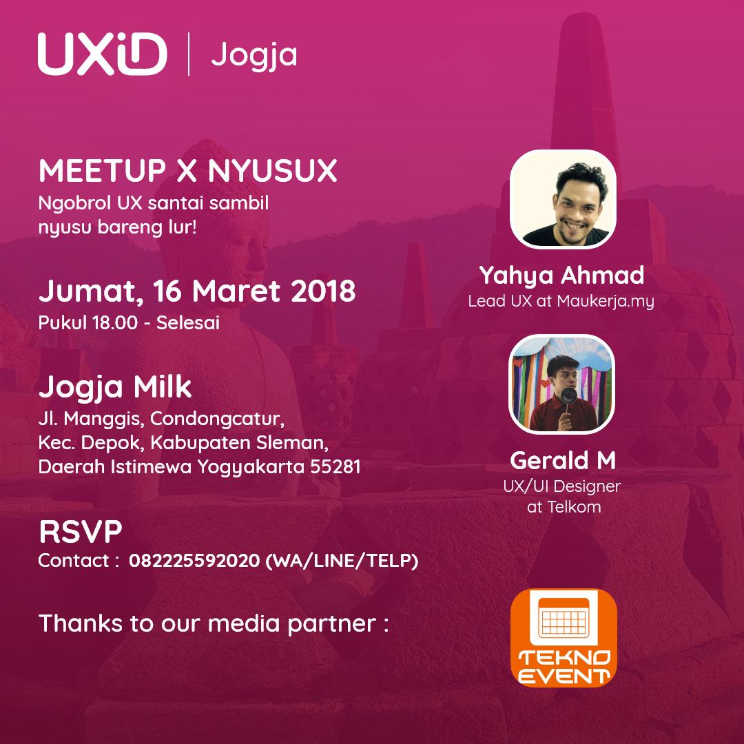 UXID Jogja Meetup & NyusUX