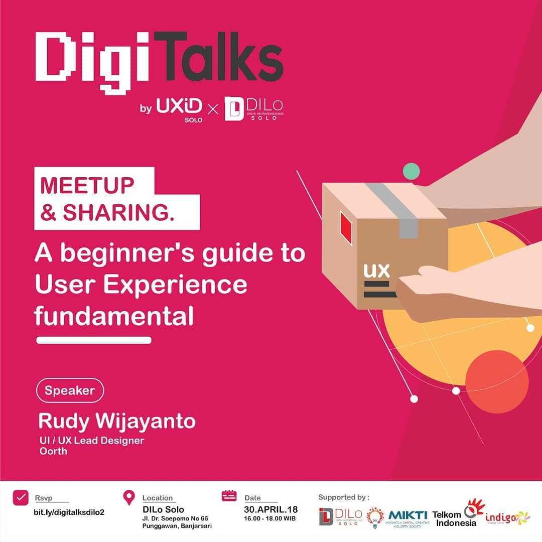 UXID Solo X DiLo Solo: DigiTalks – A Beginner's Guide To UX Fundamentals