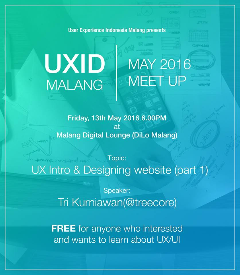 UXID Malang Meetup: UX Intro & Designing Website