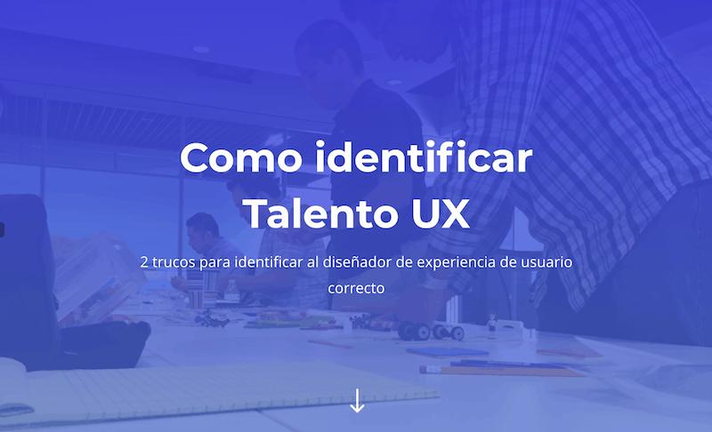 Como Identificar Talento UX
