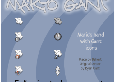 Mario Gant Cursor Pack
