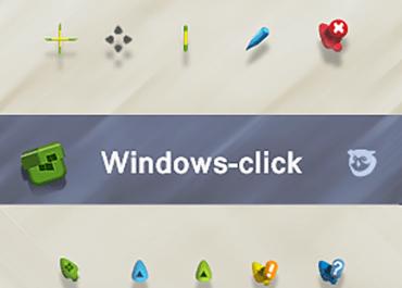 Windows-click Cursor Pack