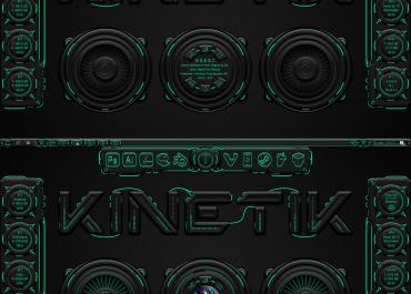 Kinetik 2.0 Rainmeter