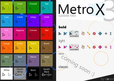 Metro X3 Cursor Pack