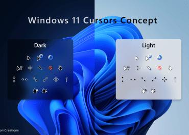 Windows 11 Cursors Concept
