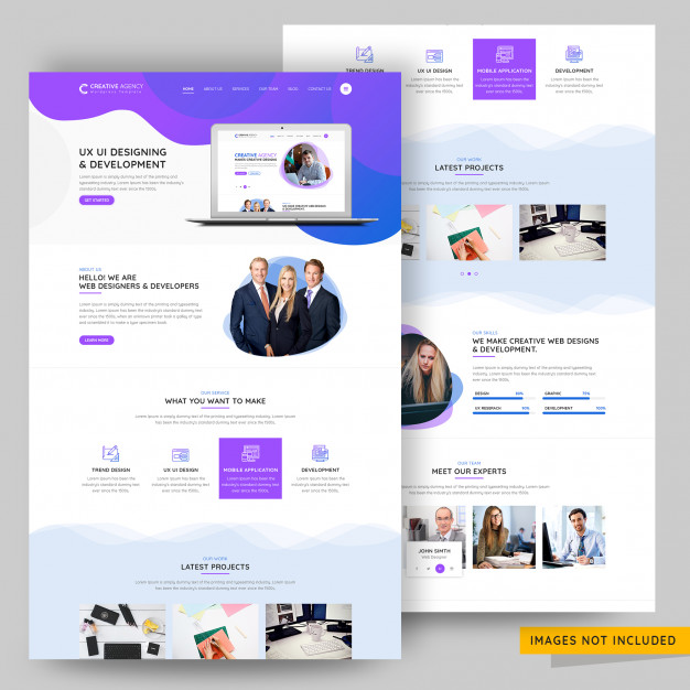 Ui and ux design agency landing page Ui Inspiration