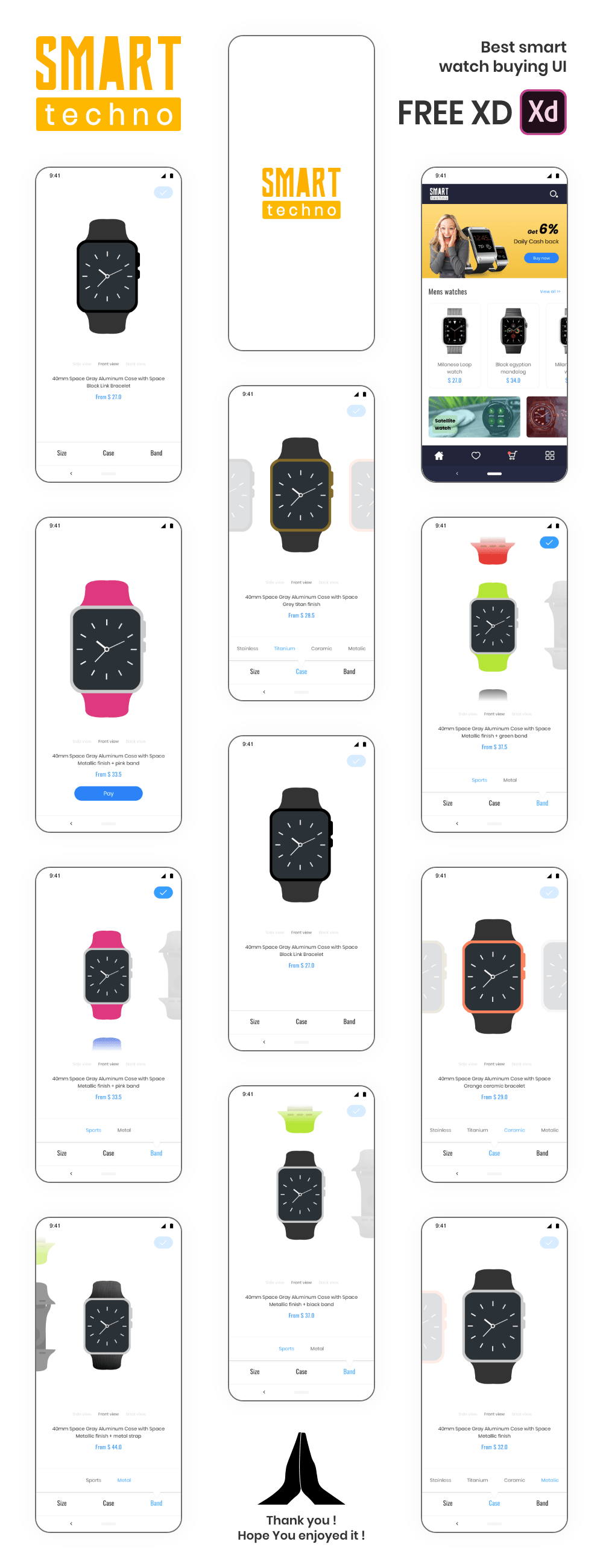 Watch buying - User friendly UI