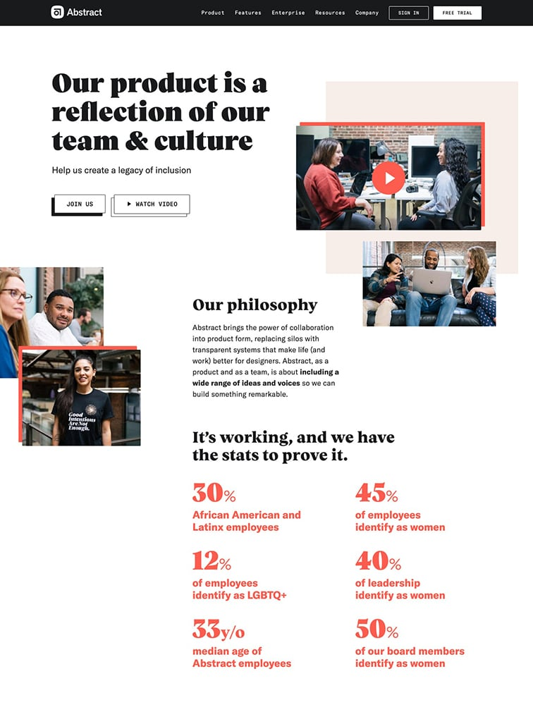 Abstract Careers Ui Inspiration