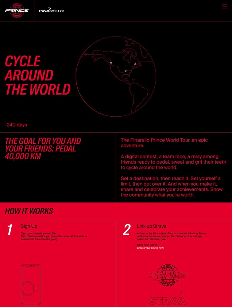 The Pinarello Prince World Tour Ui Inspiration