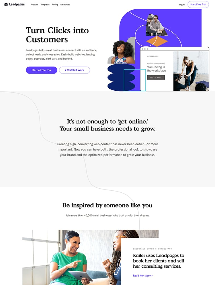 Leadpages Ui Inspiration