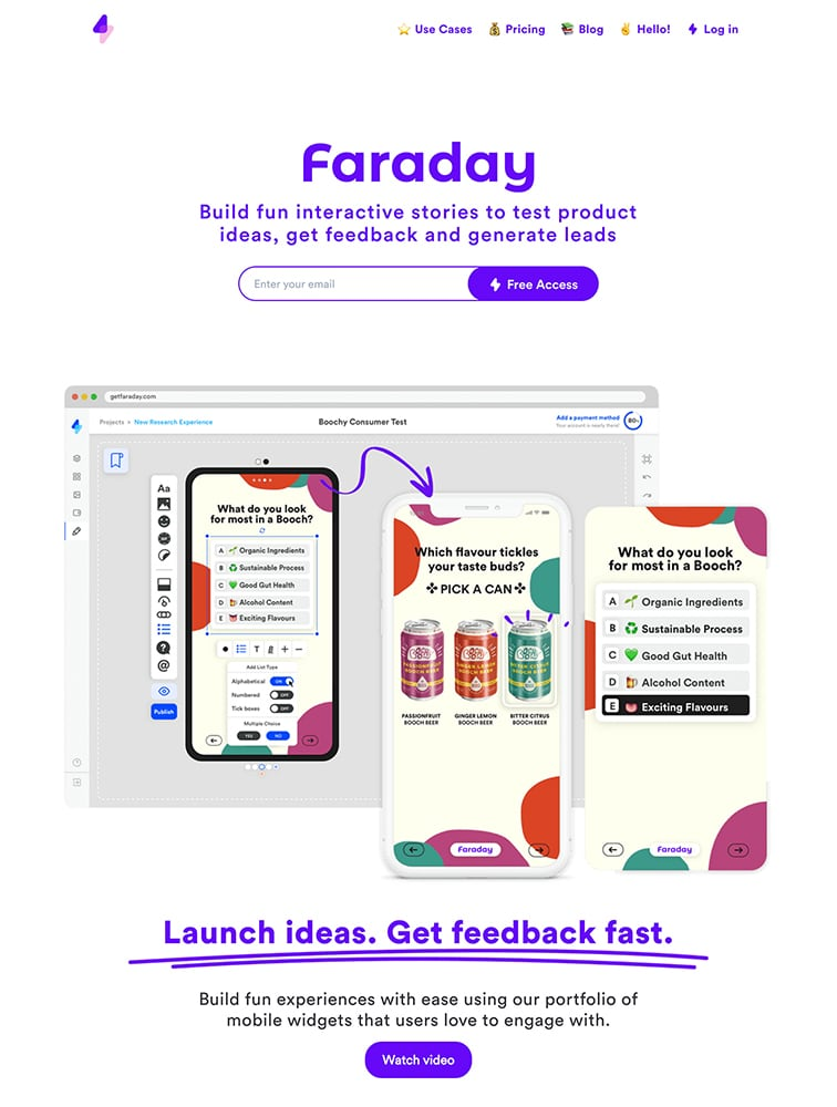 Faraday Ui Inspiration