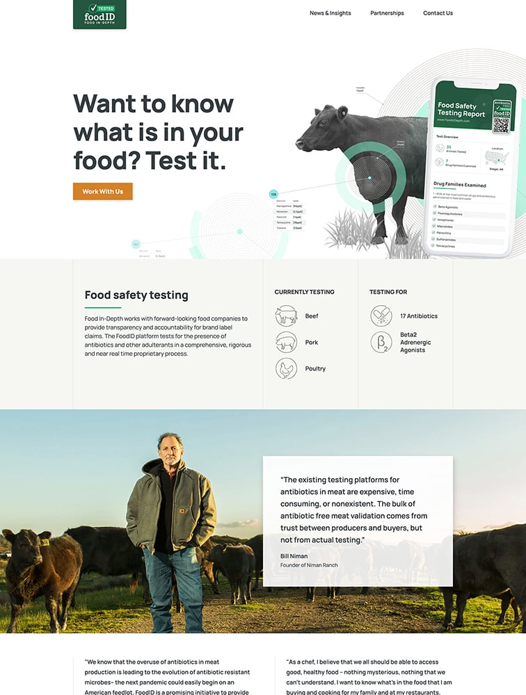 FoodID Ui Inspiration