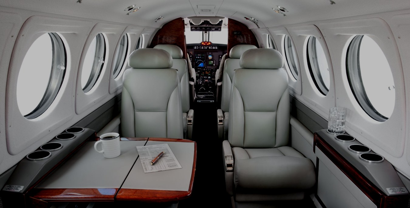 King Air 200 Interior