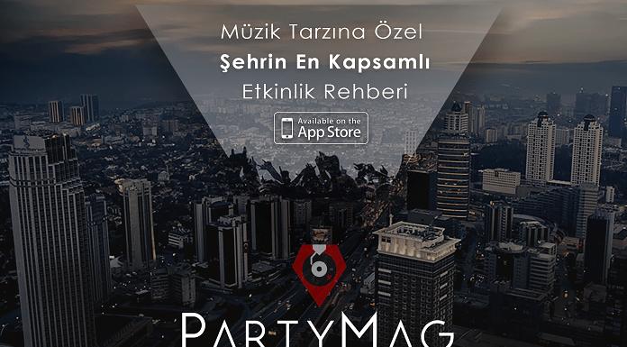 PartyMag Mobil Uygulaması