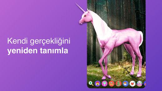 surreal ar mobil uygulaması