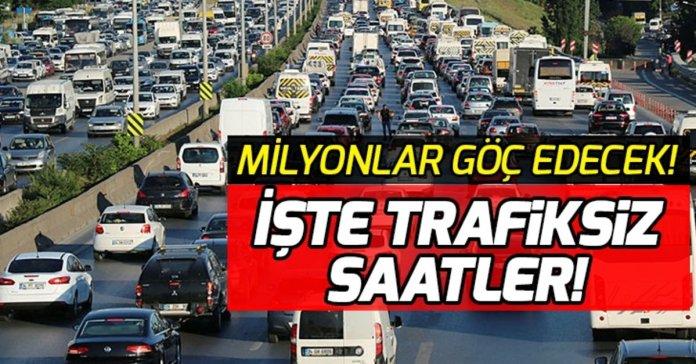 bayram trafigi