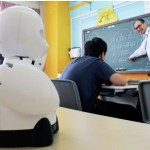 hasta ogrenci okula robot gonderecek