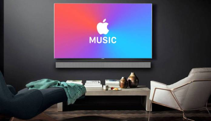 apple music samsung akilli tvlere geliyor