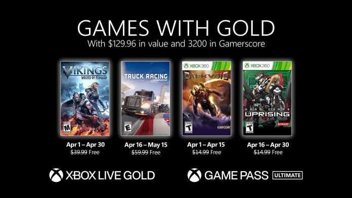 xbox live gold nisan ucretsiz oyunlar