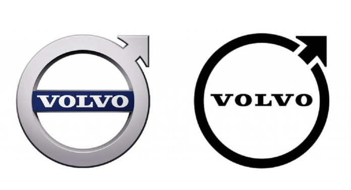 volvo yeni logo tasarim