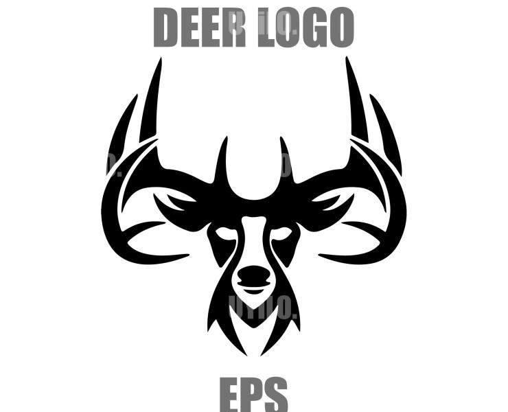 Deer Logo, Sketch