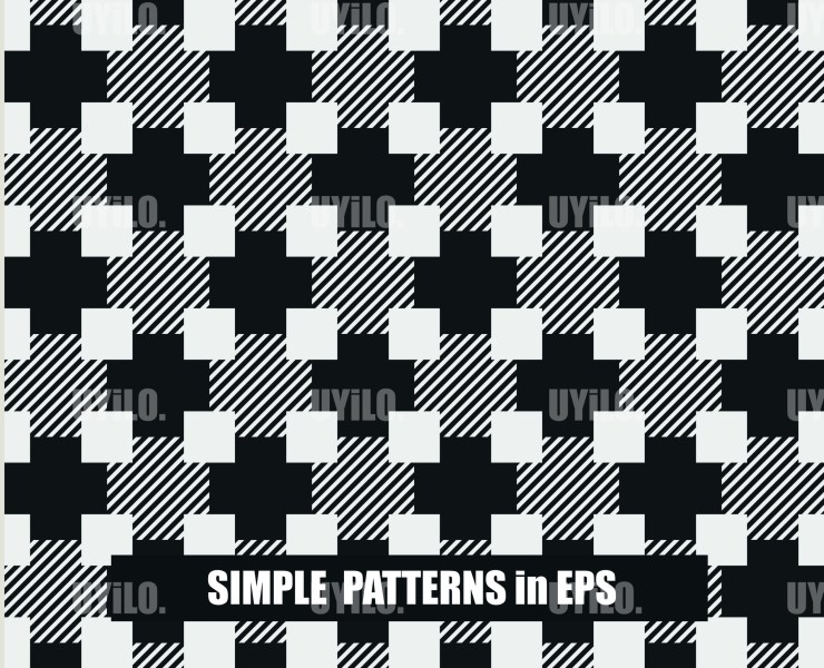 Simple Patterns (8) in EPS Format