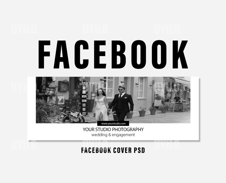 Facebook Cover Template for Photographer