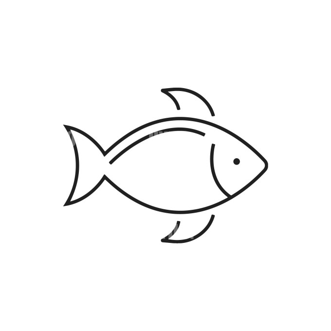 Fish Instant download in several files for Logo or Label
