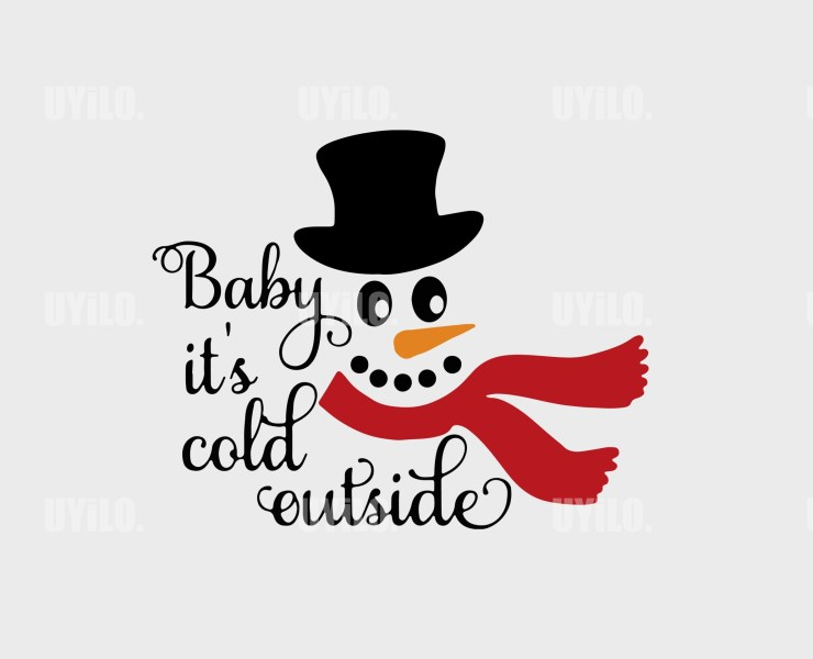 Baby its Cold outside Instant Download in several files