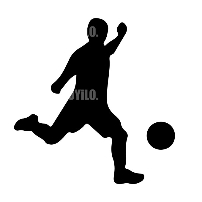 Soccer Player 16 Instant Download in several files