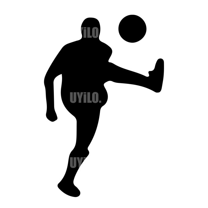 Soccer Player 17 Instant Download in several files