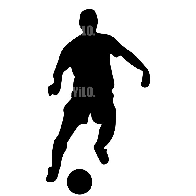 Soccer Player 3 Instant Download in several files