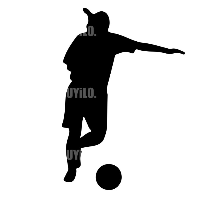 Soccer Player 6 Instant Download in several files