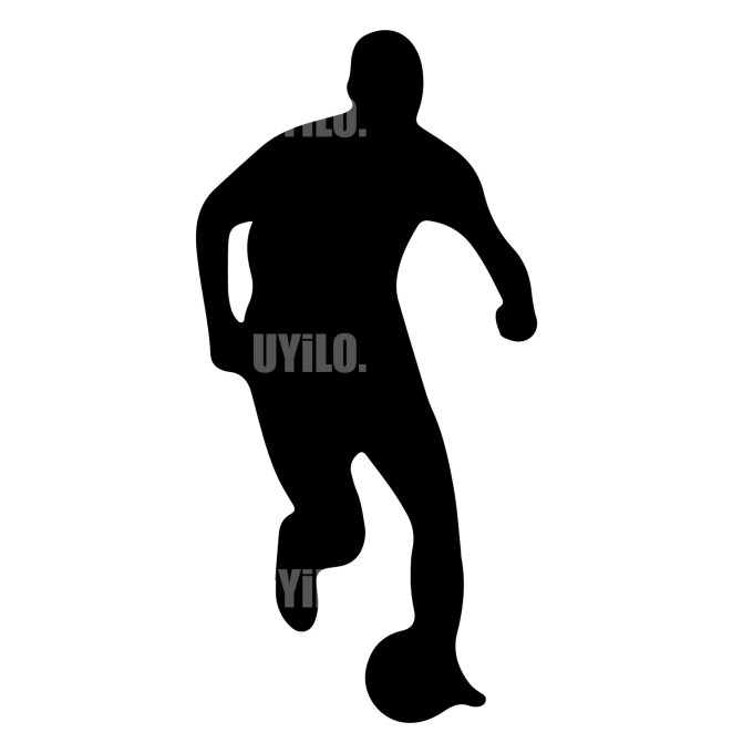 Soccer Player 7 Instant Download in several files