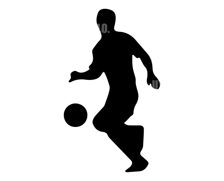 Soccer Player 9 Instant Download in several files