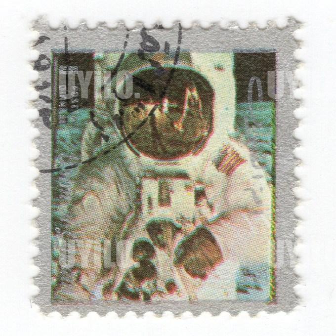 1972 Umm Al Qiwain 5 Space Mission Postage Stamps 5